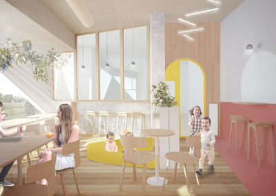Imagen interior cafeteria
